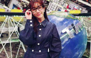 田中みな実脱力タイムズメガネと衣装のブランドはどこ?かわいい仕草のツイッターの反応は?